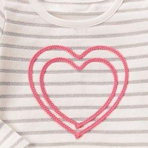 Gymboree Dresses - Gymboree Girl 12-18 M Heart Sparkle Tutu Dress NWT
